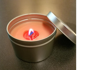 8oz Tin Candles are amazing for scenting larger areas and will last you a good while