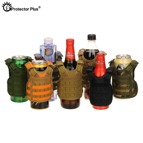 Tactical Vest Koozie for Cans and Bottles - Pure Rebel Club
