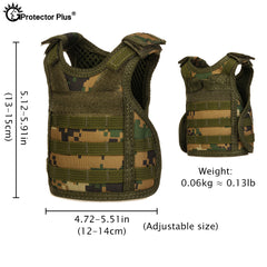 Tactical Vest Koozie for Cans and Bottles
