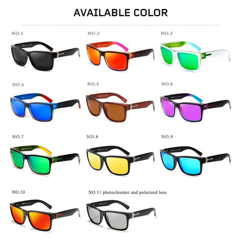 Polarized Multi-Color Sunglasses