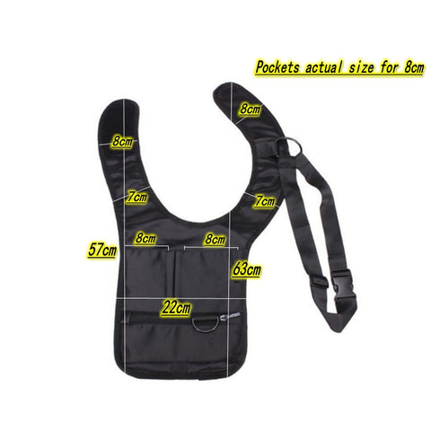 Travel Anti Theft Hidden Underarm Bag - Pure Rebel Club