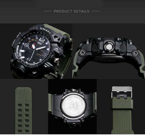 Tactical Watch in Multiple Colors - Pure Rebel Club