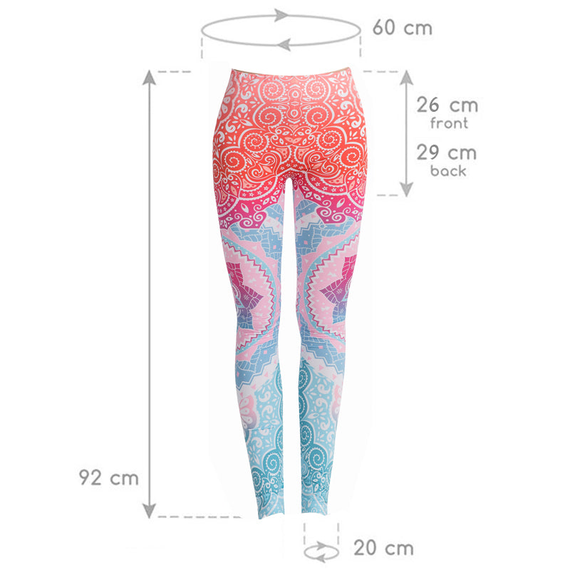 b15b0fa77bc3ee ... Yoga Mandala Women Leggings - Pure Rebel Club ...
