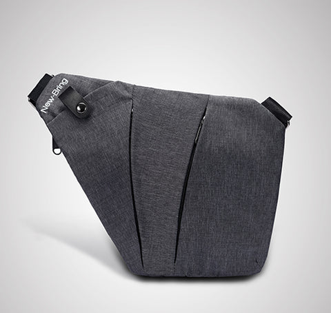 2nd One Multi Pocket Messenger Bag - Pure Rebel Club