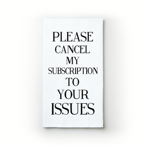 Your Issues - Teatowels.ca