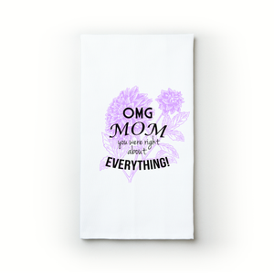 OMG Mom! - Teatowels.ca