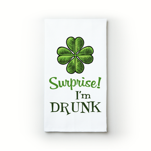 Surprise! I'm Drunk - Teatowels.ca