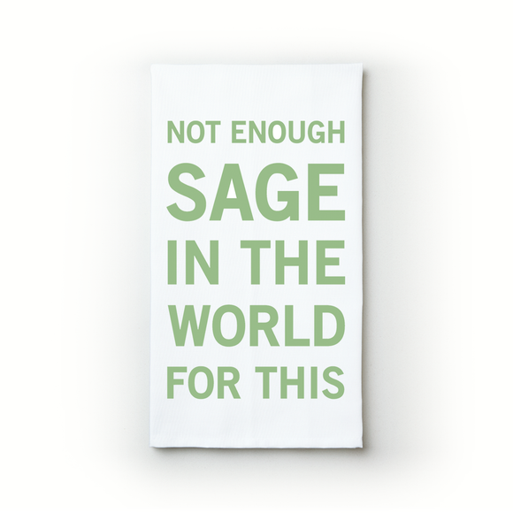 Not Enough Sage