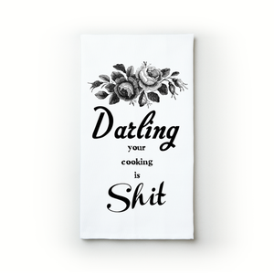 Darling, Your Cooking - Teatowels.ca