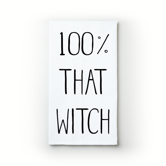 100% That Witch - Teatowels.ca