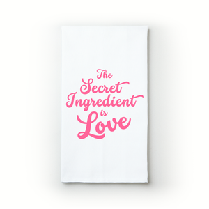 The Secret Ingredient Is Love - Teatowels.ca