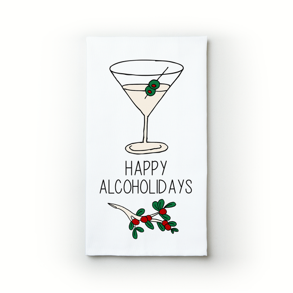 Happy Alcoholidays - Teatowels.ca