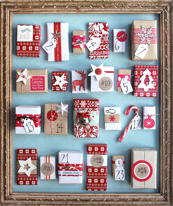 Countdown in Style - 10 Trendy Advent Calendar Ideas
