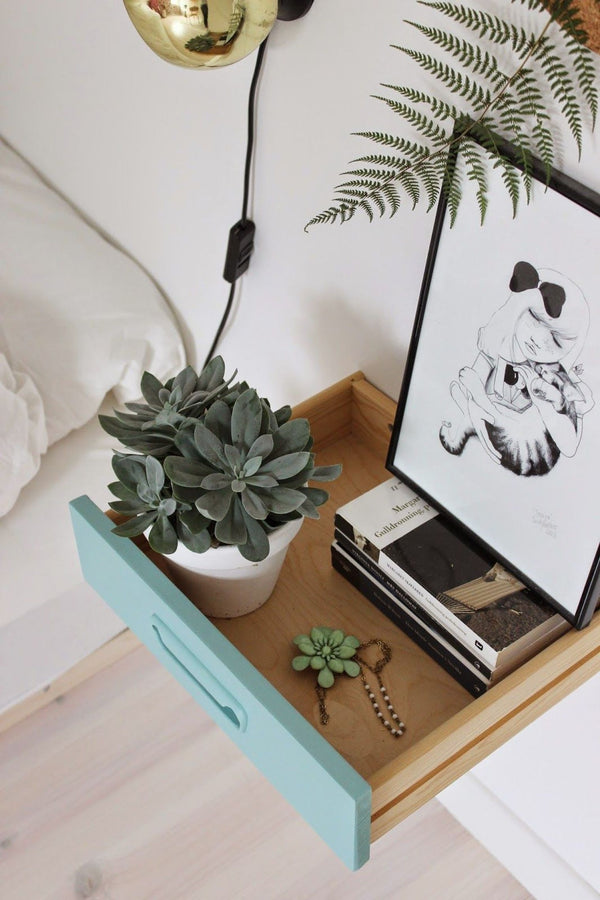 Bedroom Makeover - 12 DIY Bedside Table Ideas