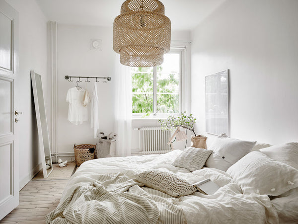 Natural & Peaceful - 12 Light Neutral Bedroom Decor Ideas