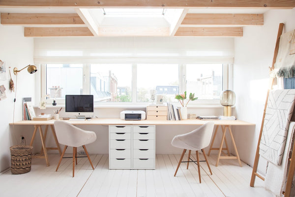 Double the Creativity - 15 Home Office Ideas for Couples