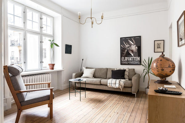Open House - Welcome Tour of a Lived-In Apartment in Stockholm