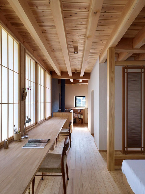 Country Farmhouse - Tour an Energy Efficient Japanese Mountain Villa