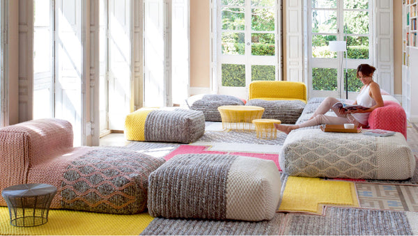 Essential Comfort - 28 Poufs to Add Character to Any Space