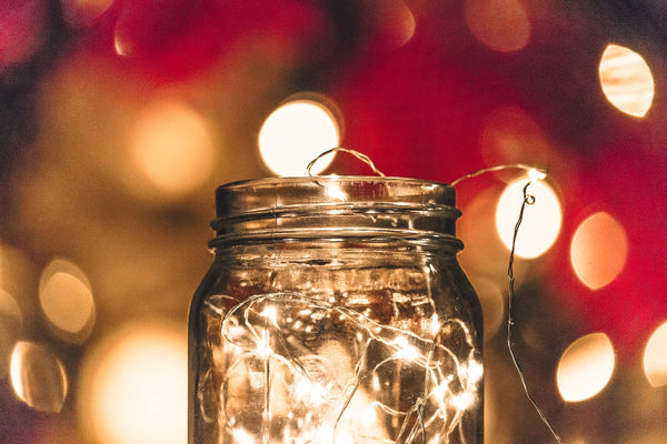 All Is Bright - 10 Christmas-Themed Indoor Decoration Ideas with String Lights