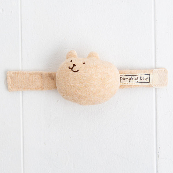 Pompkins Organic Cotton Wrist Rattle