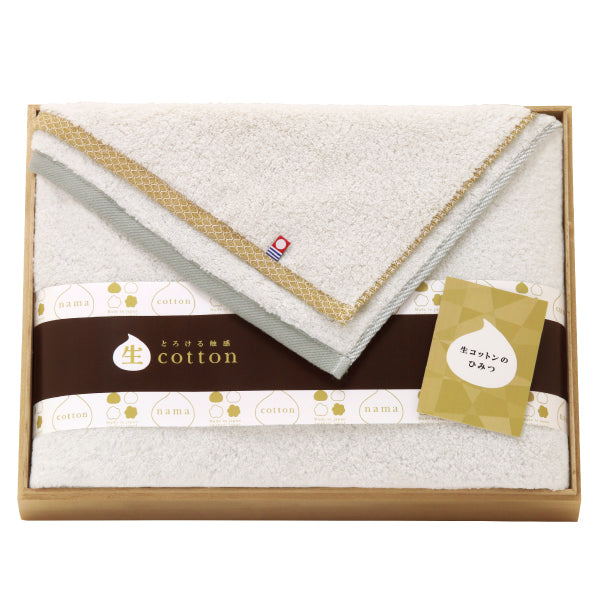Nama Imabari Towel with Wooden Box