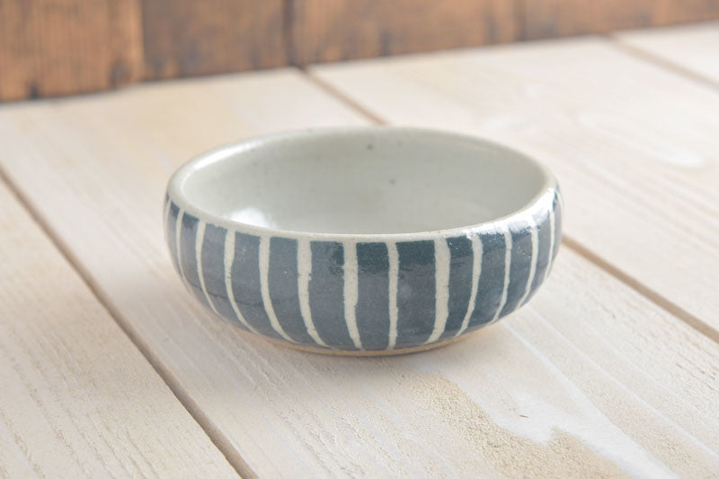 Denim Blue Snack Bowl
