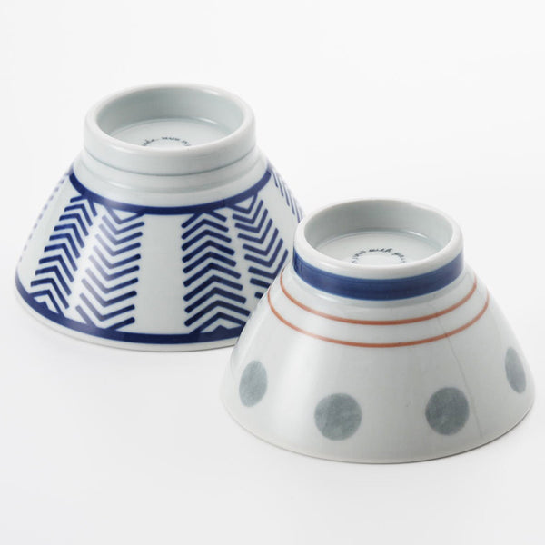 Dots & Arrows Bowls Set