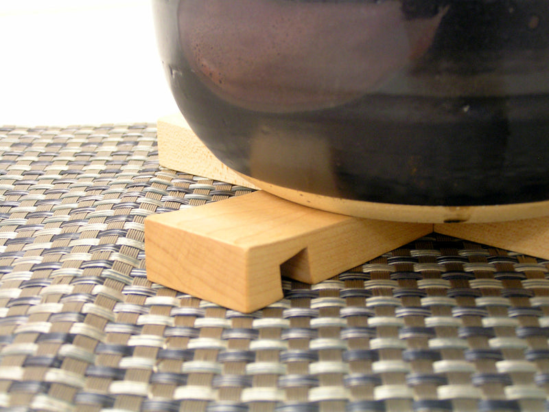 Convertible Maple Wood Pot Rest