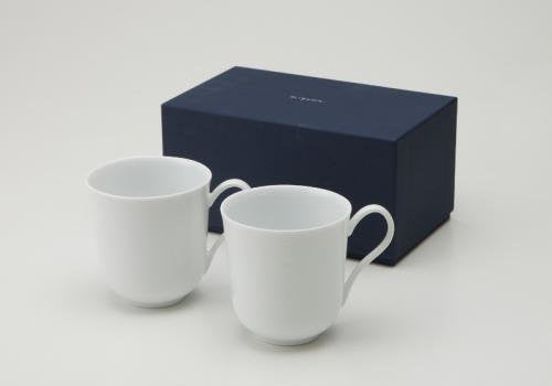 Miyama Pure White Mugs Set (2pc)