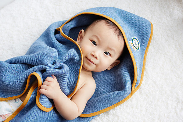 Baby Imabari Hooded Towel