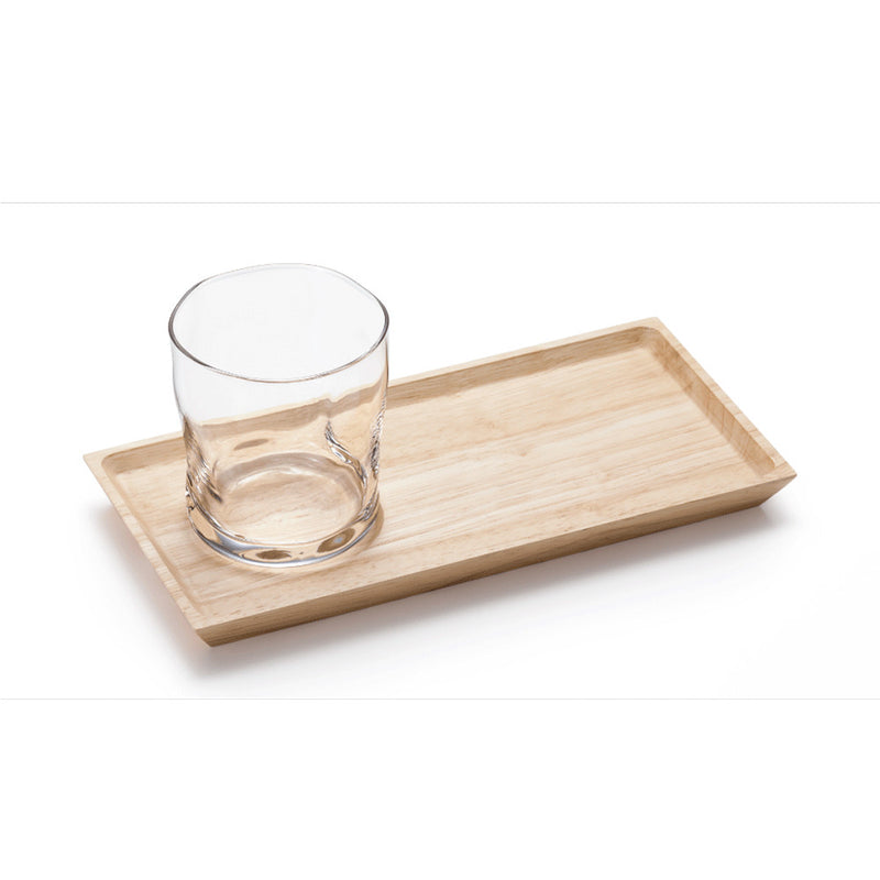 Grasp Glass and Tray Set