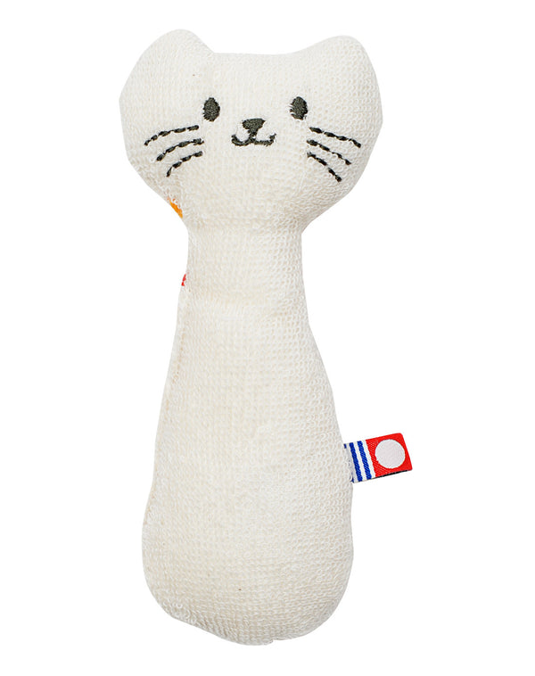 Imabari Baby Rattle Cat