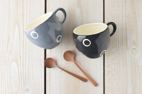 At Home Mug & Spoon Set