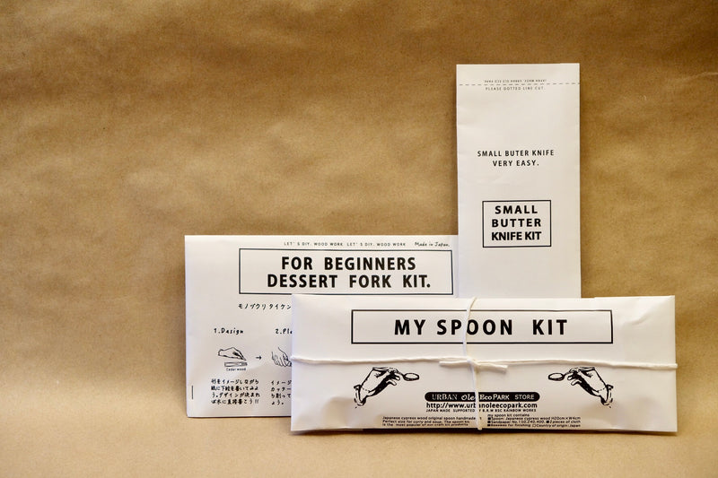 DIY Wooden Dessert Fork Kit
