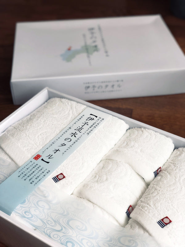 Running Water Imabari Towels Set (of 5)