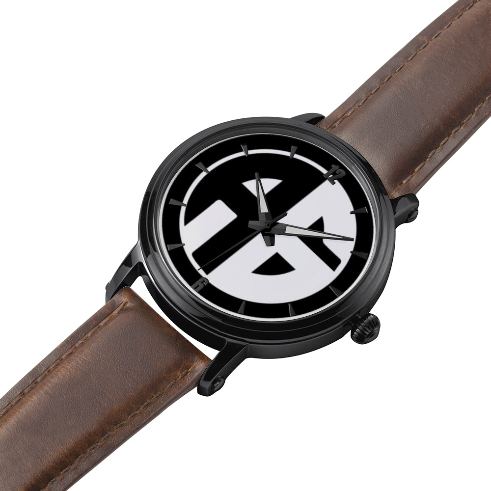 AG Conscious Classic Watch Brown Strap Detail