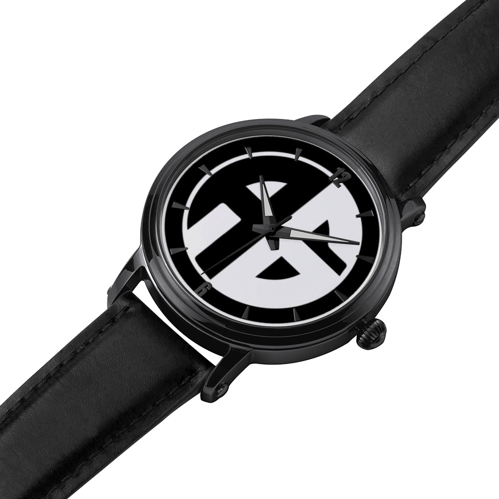 AG Conscious Classic Watch Black Strap Detail
