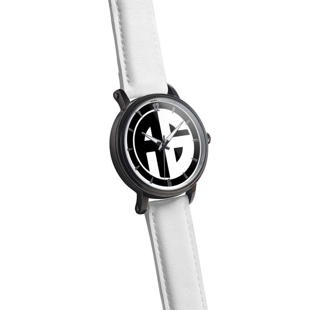 AG Conscious Classic Watch White and Black Analog Watch