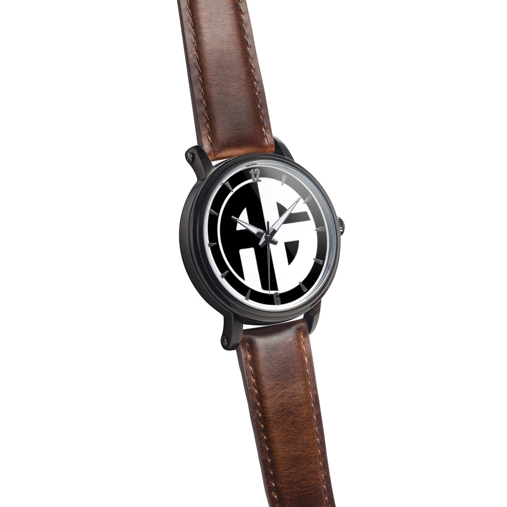 AG Conscious Classic Watch Brown Leather Strap