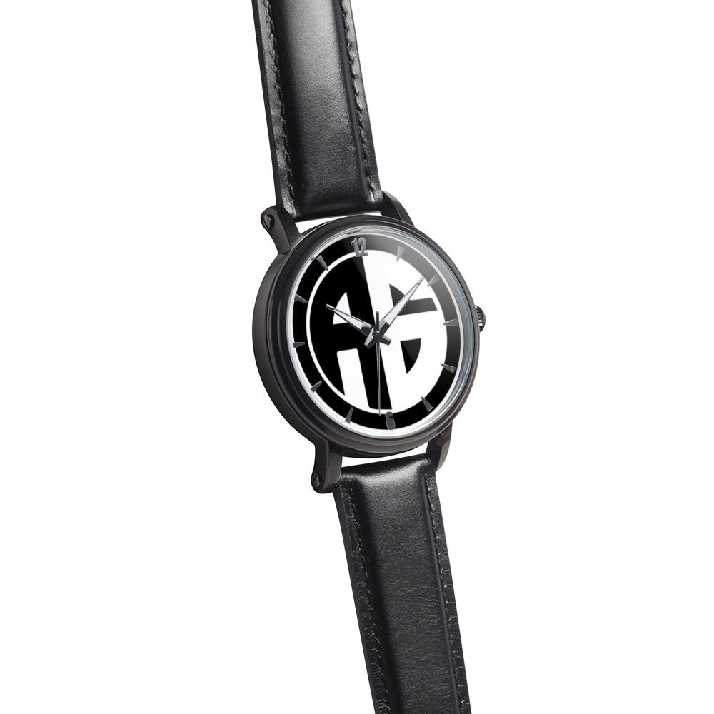 AG Conscious Classic Watch Black Strap Watch