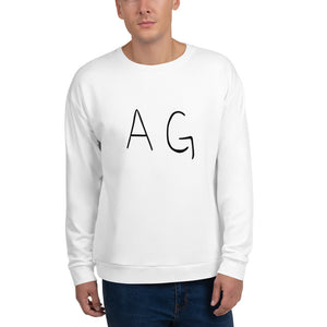 Open image in slideshow, Front view of man wearing AG sweatshirt