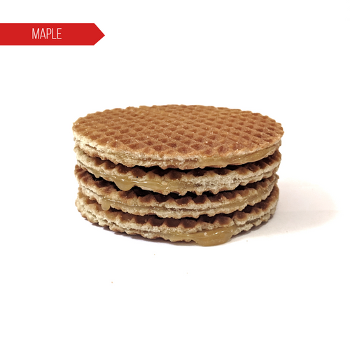 Maple Stroopwafels - 4 Pack