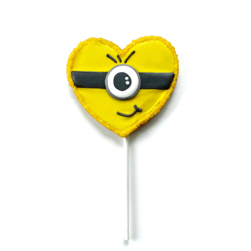 Minion Heart Cookie