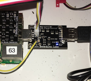 USB PowerControl board V2 w/Grove Control - USB to USB solid state relay for Raspberry Pi and Arduinos V2