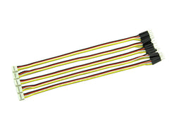 Grove - 4 pin Male Jumper to Grove 4 pin Conversion Cable (5 PCs per Pack)