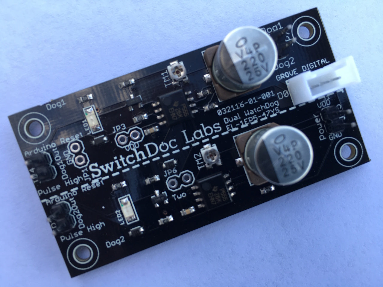 SwitchDoc Labs Dual WatchDog Timer Board for Arduino