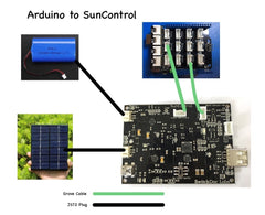 SunControl - Advanced Solar Controller / Charger / Sun Tracker / Data Gathering Grove/Header