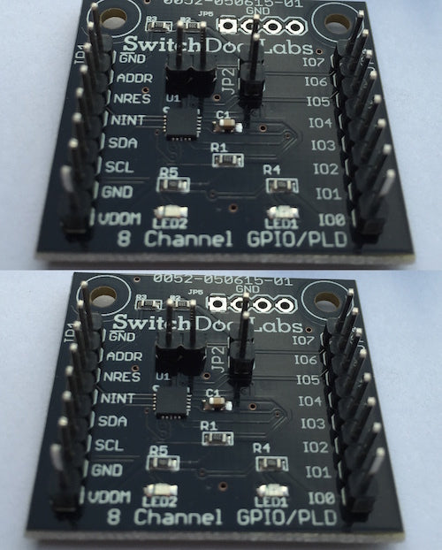 SwitchDoc LABS 8 GPIO I2C Extender Breakout Board (Dual Pack)