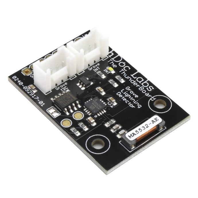 The Thunder Board - I2C Lightning Detector - Grove Connectors